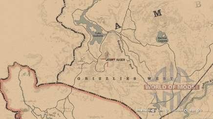 Mapa de capacete Morion em RDR 2