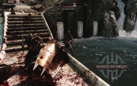 Um conjunto de armaduras e armas de Uruk-Hai para Skyrim sexta tela
