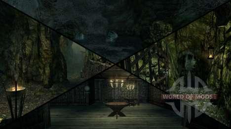 Mansão sinistra para Skyrim quinto tela