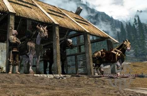 Armaduras para cavalos para Skyrim quinto tela