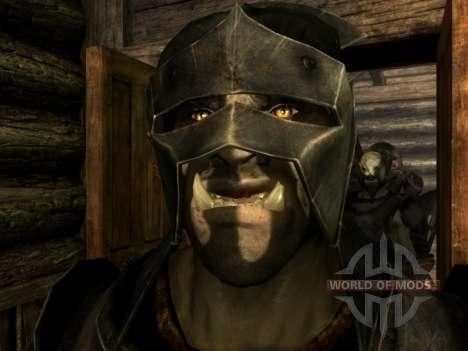 Lurz Uruk-Hai e coloração de orcs Uruk-Hai para Skyrim segunda tela