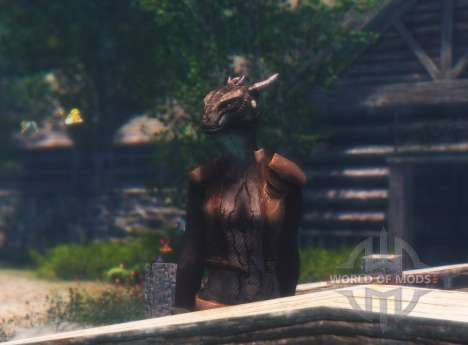 Esquecido argonianskie raízes para Skyrim