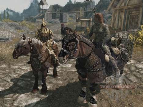 Armaduras para cavalos para Skyrim décima primeira imagem de tela