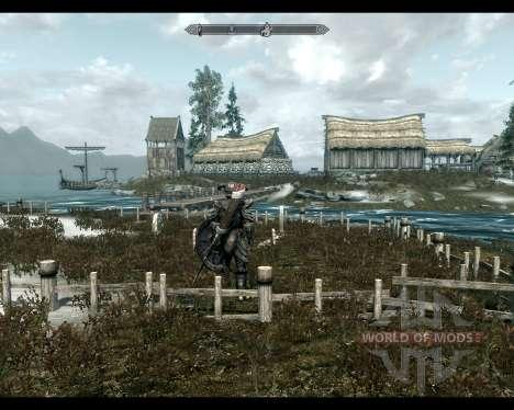 Terra de alta rocha para a terceira tela Skyrim