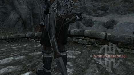 Nordskij espada com bainha para a terceira tela Skyrim