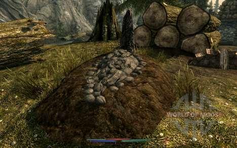 Limpeza de cadáveres para Skyrim nono tela