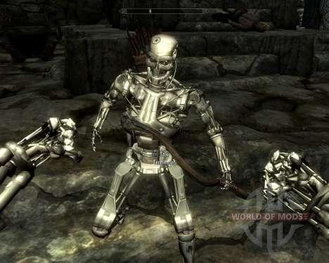 Exterminadores de corrida para a quarta tela Skyrim