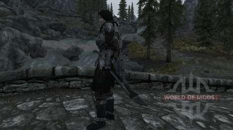 Nordskij espada com bainha para Skyrim