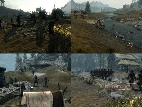 Mais uma guerra sobre o Skyrim para Skyrim