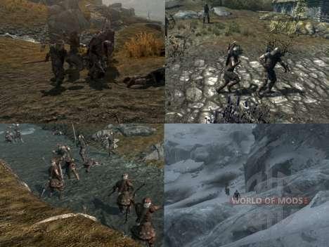 Mais uma guerra sobre o Skyrim para a terceira tela Skyrim