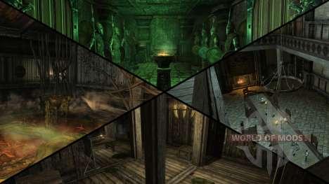 Mansão sinistra para Skyrim sétima tela