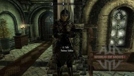 Preto-e-ouro-alfesca armadura para a terceira tela Skyrim