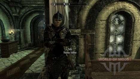 Preto-e-ouro-alfesca armadura para a quarta tela Skyrim