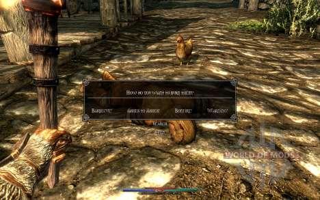 Limpeza de cadáveres para Skyrim sétima tela