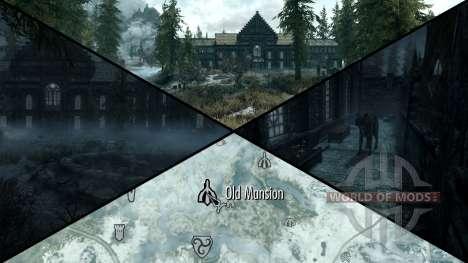 Mansão sinistra para Skyrim sexta tela