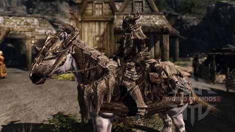 Armaduras para cavalos para a quarta tela Skyrim