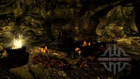 Uma pequena casa em Solit′ûde para a terceira tela Skyrim