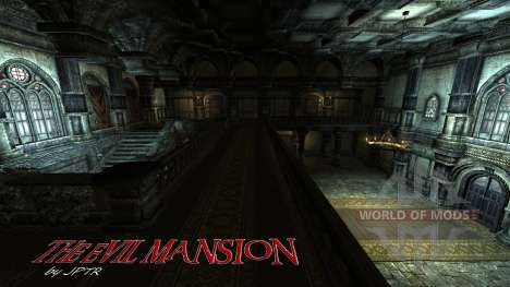 Mansão sinistra para Skyrim segunda tela