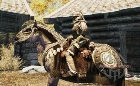 Armaduras para cavalos para Skyrim oitavo tela