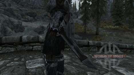 Nordskij espada com bainha para Skyrim segunda tela