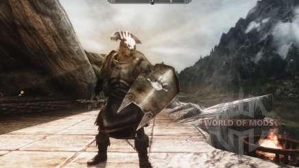 Um conjunto de armaduras e armas de Uruk-Hai para Skyrim
