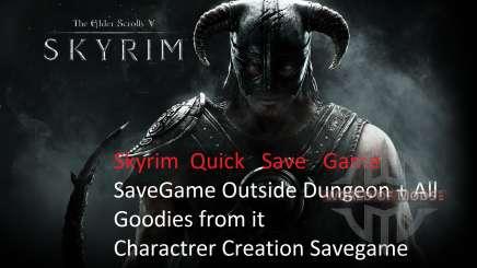Net salvar após a entrada em vigor do para Skyrim
