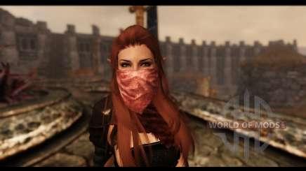 Máscaras faciais para Skyrim