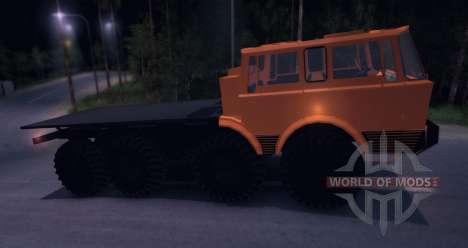 Tatra 813 8x8 TRUCK TRIAL para Spin Tires