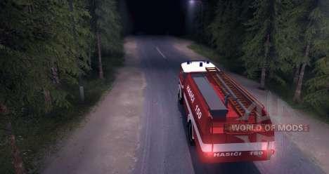 LIAZ (Skoda) 706 RT - old firetruck para Spin Tires