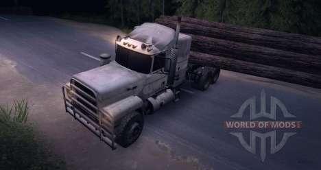 Caminhão MACK Log para Spin Tires