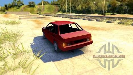 Lada ВАЗ 21099 para Spin Tires