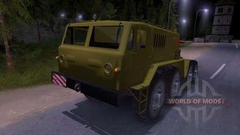 Maz-537 para Spin Tires