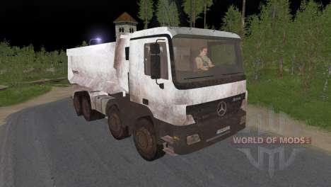 Mercedes-Benz Actros 3241 para Spin Tires