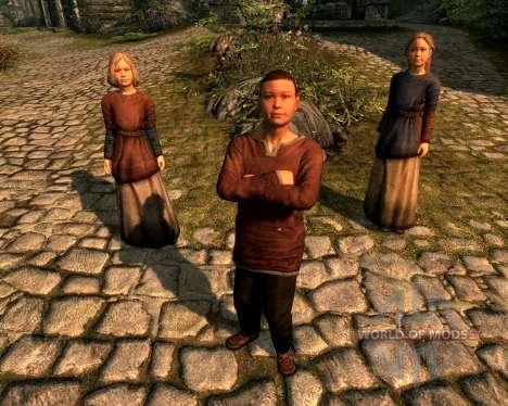 Multi adoção - adotado mais crianças para Skyrim