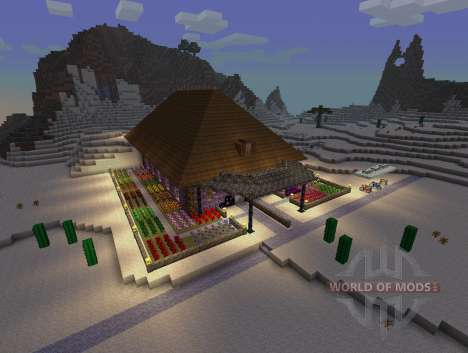 SimCraft - decorações em alta resolução para Minecraft