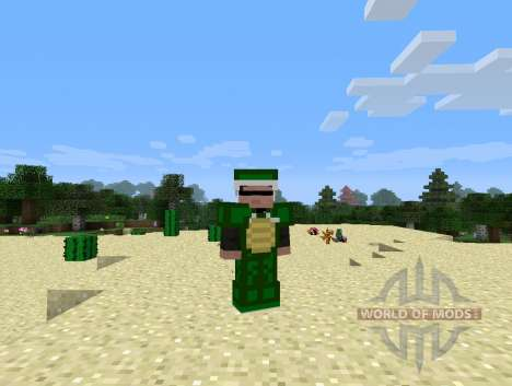 Tartarugas tartarugas para Minecraft