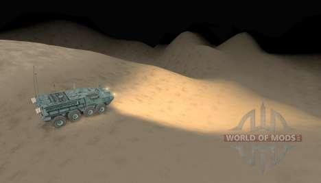 Mapa-deserto - para Spin Tires