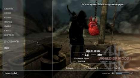 Kraft corações Daedras para Skyrim