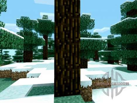 Sombreador shift-incomum de tempo para Minecraft