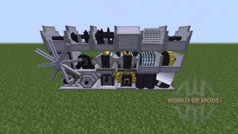 RotaryCraft-uma nova palavra em física para Minecraft
