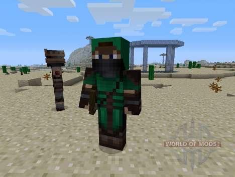 Guardas Mod - cavaleiros para Minecraft