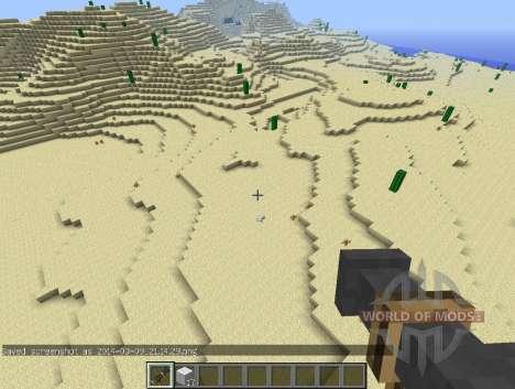 Canhão ChickenLauncher-galinha para Minecraft