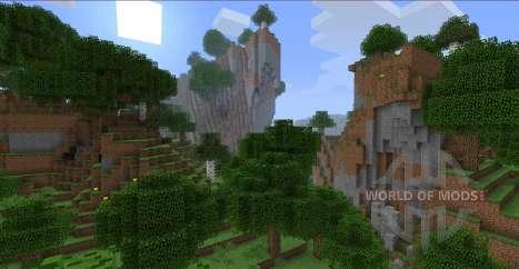 Better World Generation para Minecraft
