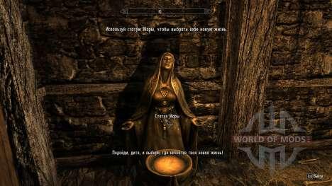 Alternativa iniciar - viver outra vida para Skyrim