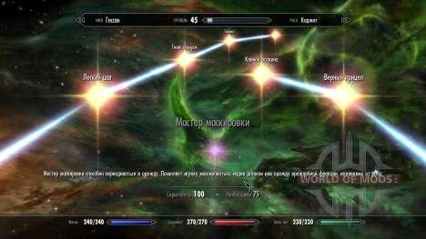 Armadura Colocada - Disfarce para a quarta tela Skyrim