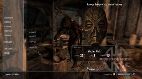 Kraft dragão máscaras sacerdotes para Skyrim segunda tela