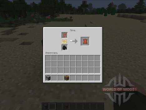 Ainda Outro Couro de Fundição de - carne podre para Minecraft