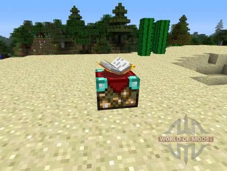 UnchantmentTable - tabela para a retirada do encantamento para Minecraft