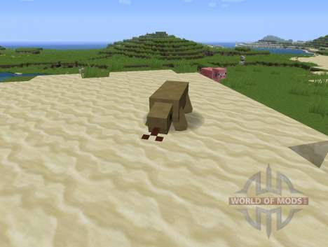 Reptile Mod para Minecraft