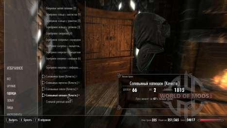 Superior encantando armaduras solovinoj para Skyrim quinto tela